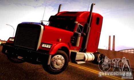 Freightliner Classic XL для GTA San Andreas салон