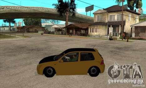 VW Golf 4 R32 для GTA San Andreas