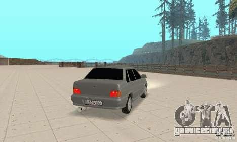 ВАЗ 2115 TUN для GTA San Andreas вид слева