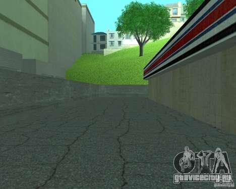 New Xoomer.Новая заправка. для GTA San Andreas четвёртый скриншот