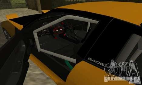 Nissan 240SX Drift Tuning для GTA San Andreas вид справа
