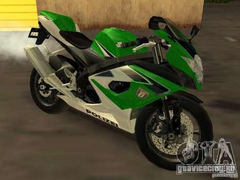 Suzuki 1000 Police для GTA San Andreas