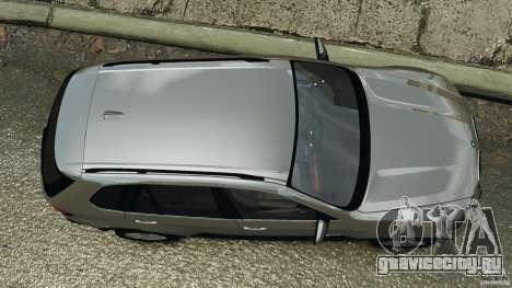 BMW X5 xDrive35d для GTA 4 вид справа