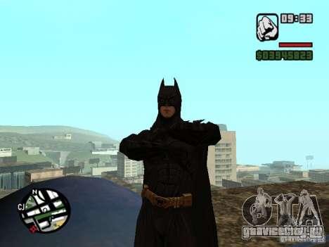 Бэтмен для GTA San Andreas третий скриншот
