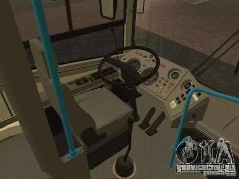 ЛиАЗ-ГолАЗ 5256 2007 для GTA San Andreas вид сбоку