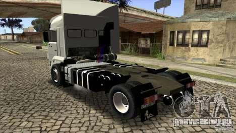 КамАЗ 5460 Евро 3 420 Турбо для GTA San Andreas вид сзади слева