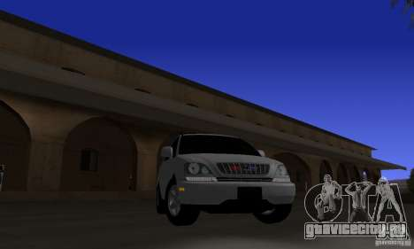 Lexus RX300 для GTA San Andreas вид сзади