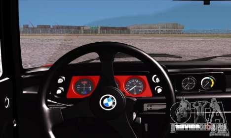 BMW 2002 Turbo для GTA San Andreas вид сбоку