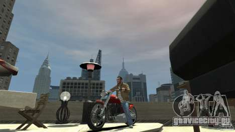 The Lost and Damned Bikes Lycan для GTA 4 вид слева