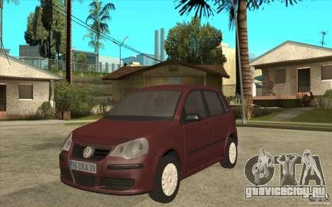 Volkswagen Polo 2006 для GTA San Andreas