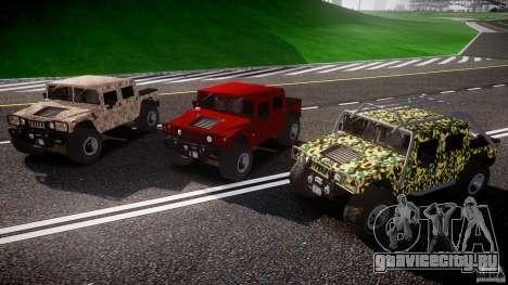 Hummer H1 4x4 OffRoad Truck v.2.0 для GTA 4 вид сверху