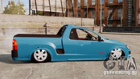 Chevrolet Montana FIXA для GTA 4 вид слева
