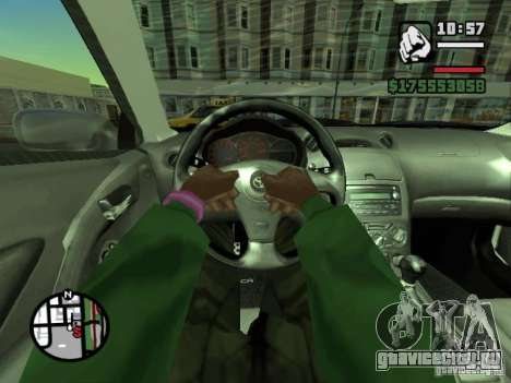 Вид от первого лица (First-Person mod) для GTA San Andreas