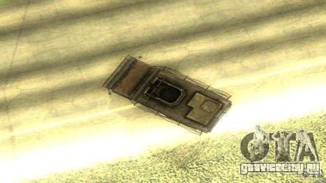 Frontline - MilBus для GTA San Andreas вид изнутри
