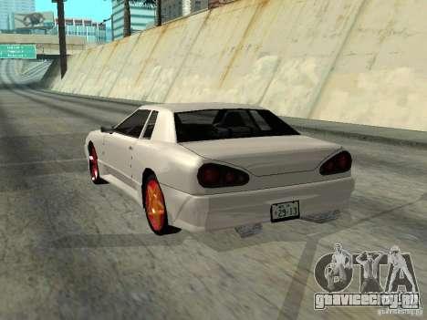 Elegy 29-13 для GTA San Andreas вид справа