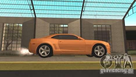 Chevrolet Camaro SS 2010 v2.0 Final для GTA San Andreas вид слева
