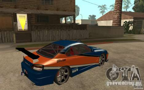 Nissan Silvia Drift для GTA San Andreas вид справа