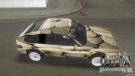 Blista rock stone stock для GTA Vice City вид сзади слева