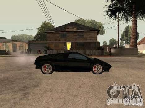 GTA4 Infernus для GTA San Andreas вид слева