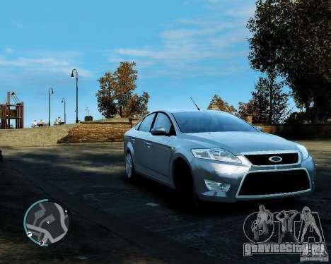 Ford Mondeo 2009 v1.0 для GTA 4 вид слева