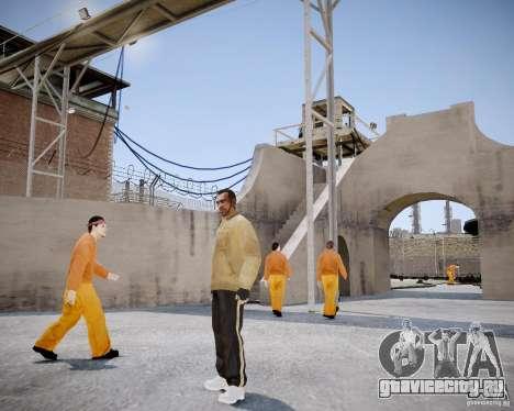 Prison Break Mod для GTA 4 второй скриншот