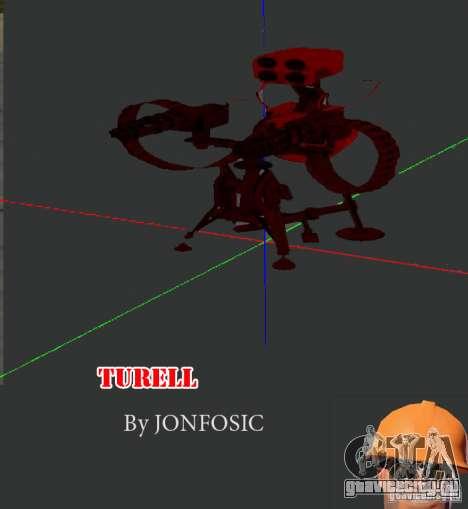 Турель из Team Fortess 2 для GTA San Andreas