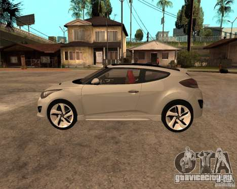 Hyundai Veloster 2012 для GTA San Andreas вид слева