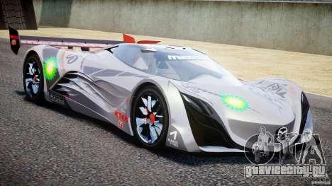 Mazda Furai Concept 2008 для GTA 4 вид сбоку