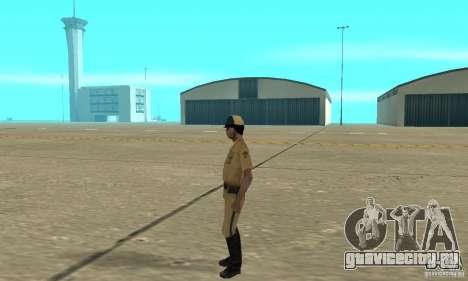 New uniform cops on bike для GTA San Andreas второй скриншот