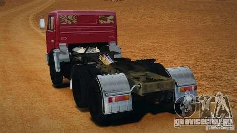 КамАЗ 5410 для GTA 4 вид слева