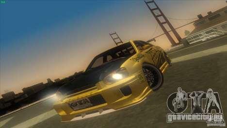 Subaru Impreza WRX No Fear для GTA San Andreas