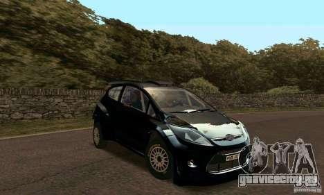 Ford Fiesta Rally для GTA San Andreas вид слева