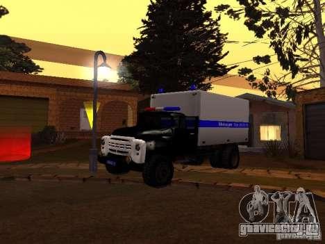 ЗиЛ 130 Милиция для GTA San Andreas вид слева