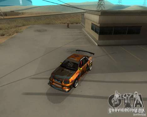 Subaru Impreza WRX Team Orange DRIFT SA-MP для GTA San Andreas