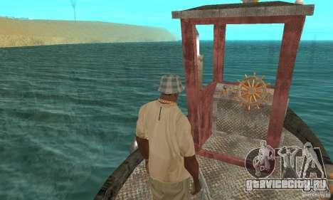 Lil Tug для GTA San Andreas вид сзади