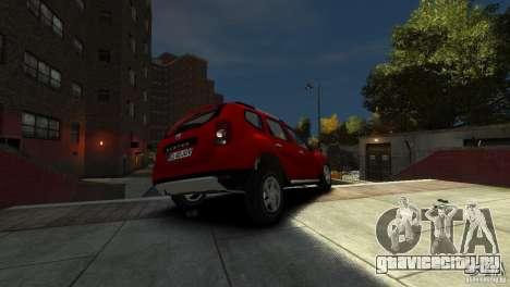Dacia Duster SUV 4x4 2010 для GTA 4 вид сбоку