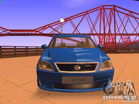 Nissan NP200 для GTA San Andreas