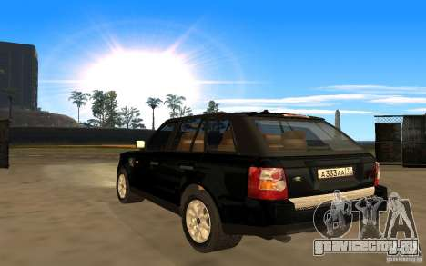 Land Rover Range Rover для GTA San Andreas вид слева