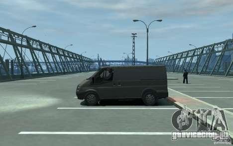 Ford Transit 2011 для GTA 4 вид слева