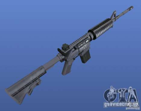 M4 Texture для GTA 4 третий скриншот