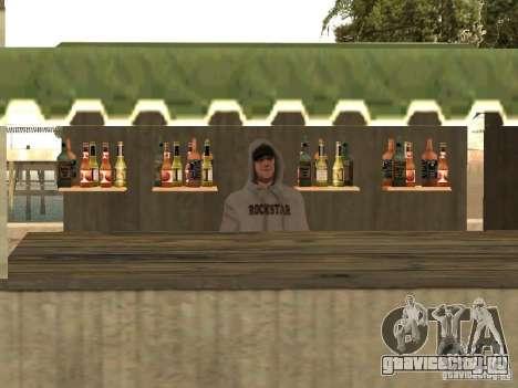 Рынок на пляже для GTA San Andreas пятый скриншот