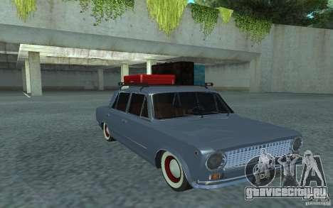 ВАЗ-2101 Retro Style для GTA San Andreas вид сзади