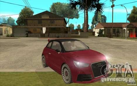 Audi A1 Clubsport Quattro для GTA San Andreas вид сзади
