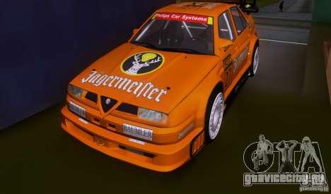 Alfa Romeo 155 v6 DTM Jagermeifter для GTA San Andreas