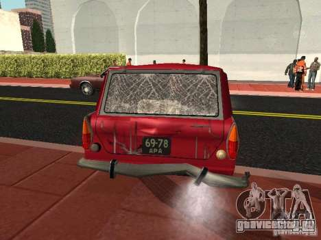 Москвич 434 для GTA San Andreas вид сбоку