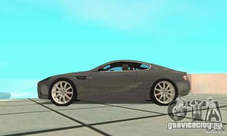Aston Martin DB9 для GTA San Andreas вид справа