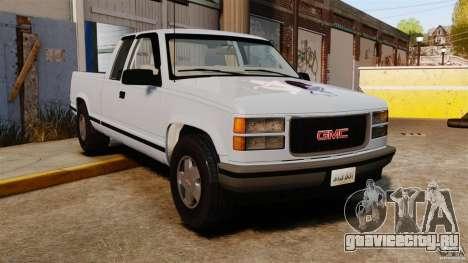 GMC Sierra 1994 для GTA 4
