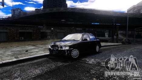 Toyota Corolla 1.6 для GTA 4 вид сзади