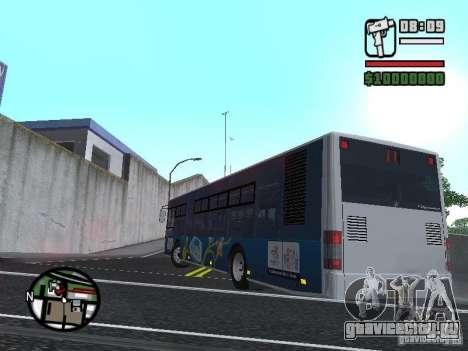 CityLAZ 12 LF для GTA San Andreas вид слева