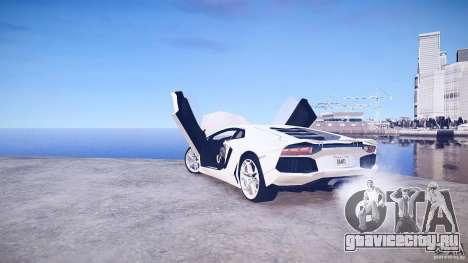 Lamborghini Aventador LP700-4 v1.0 для GTA 4 вид сверху